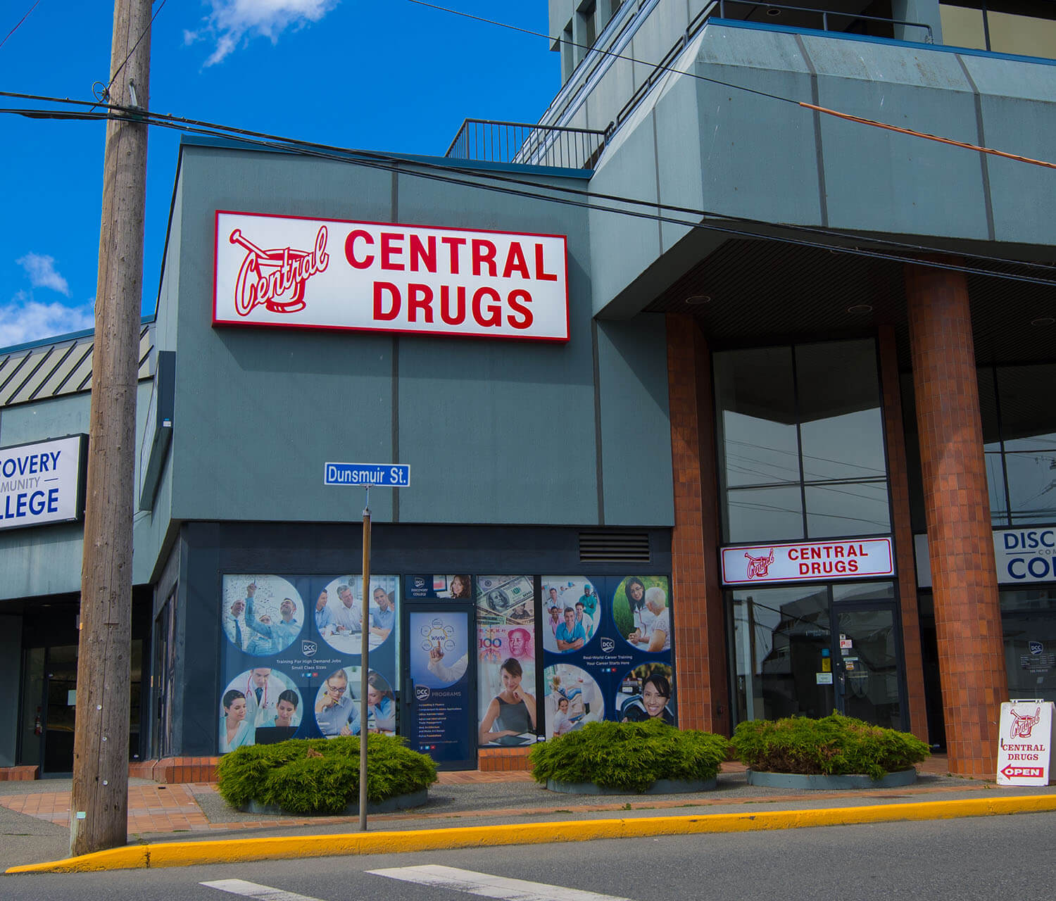 Visit out Dunsmuir Central Island Pharmacy Location